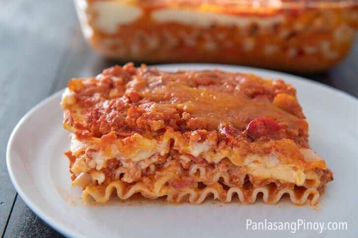 filipino style lasagna