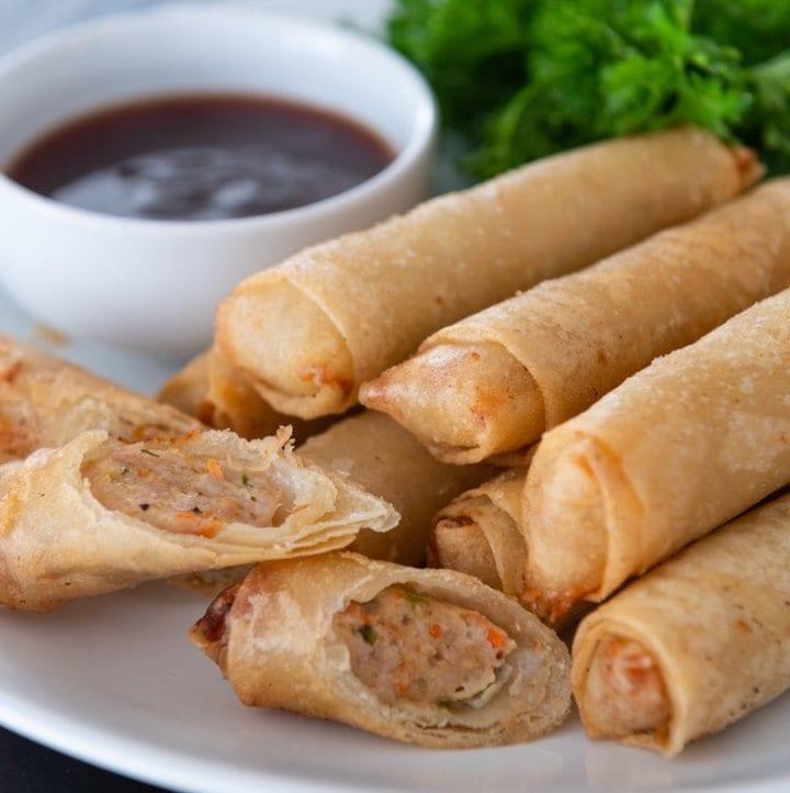 longanisa lumpiang shanghai recipe