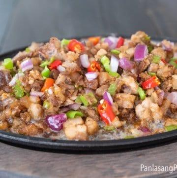 sizzling crispy sisig recipe