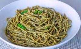 Tuyo Pesto Spaghetti Pasta