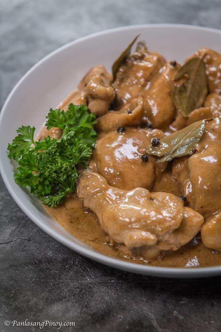 Adobong Manok sa gata recipe panlasang pinoy