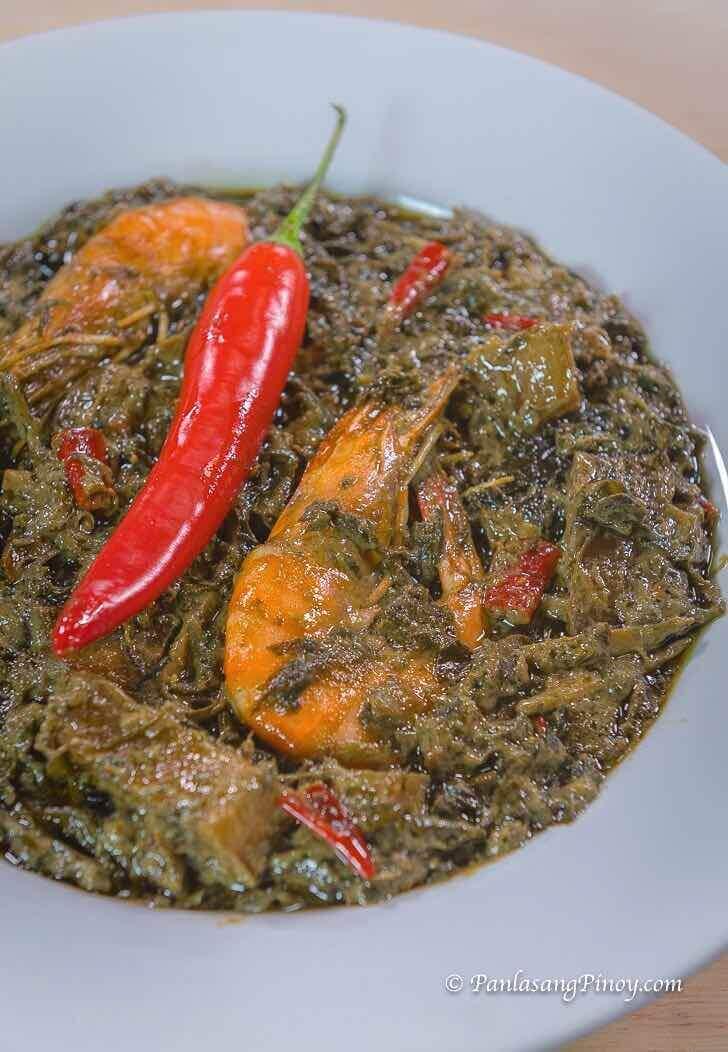 shrimp laing