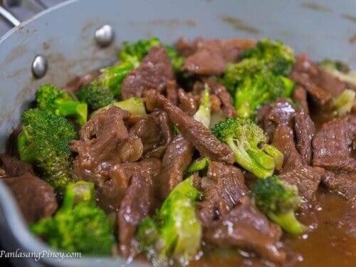 Saucy Beef With Broccoli Panlasang Pinoy