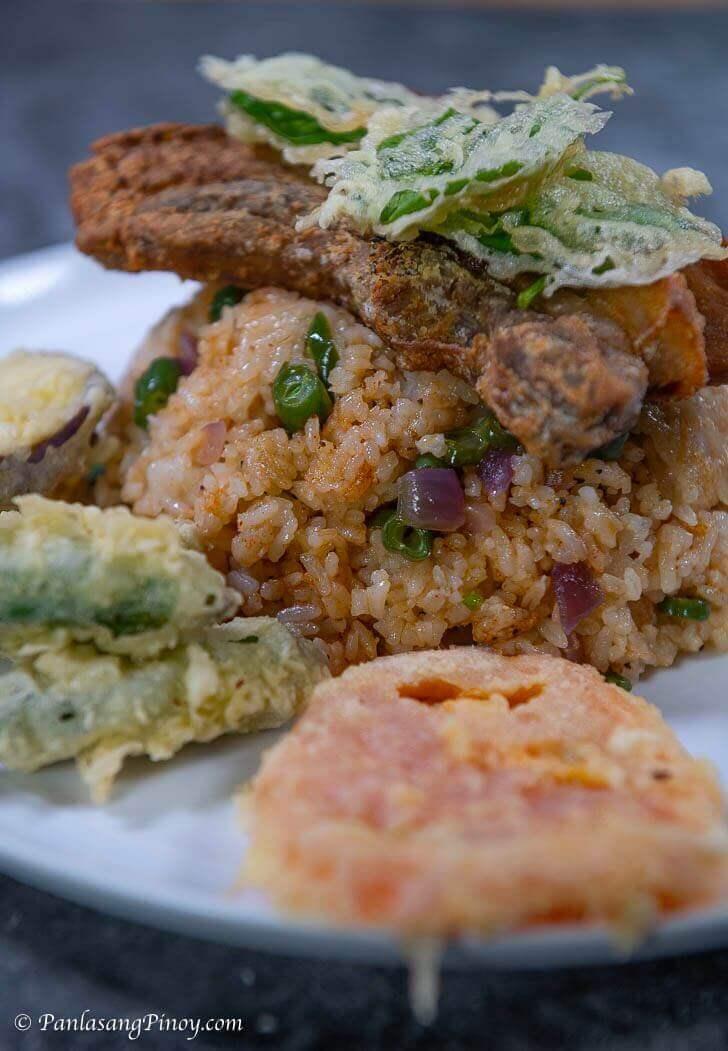 Crispy Liempo Sinigang Fried Rice Recipe