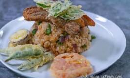 Crispy Liempo Sinigang Rice