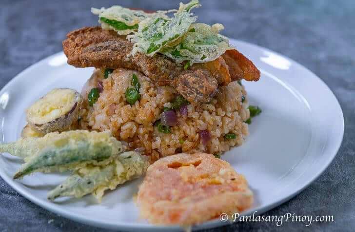 Crispy Liempo Sinigang Rice Recipe