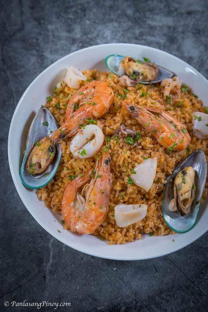 aligue fried rice recipe