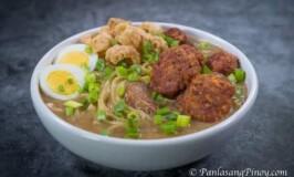 Corned Beef Lomi Batangas Style
