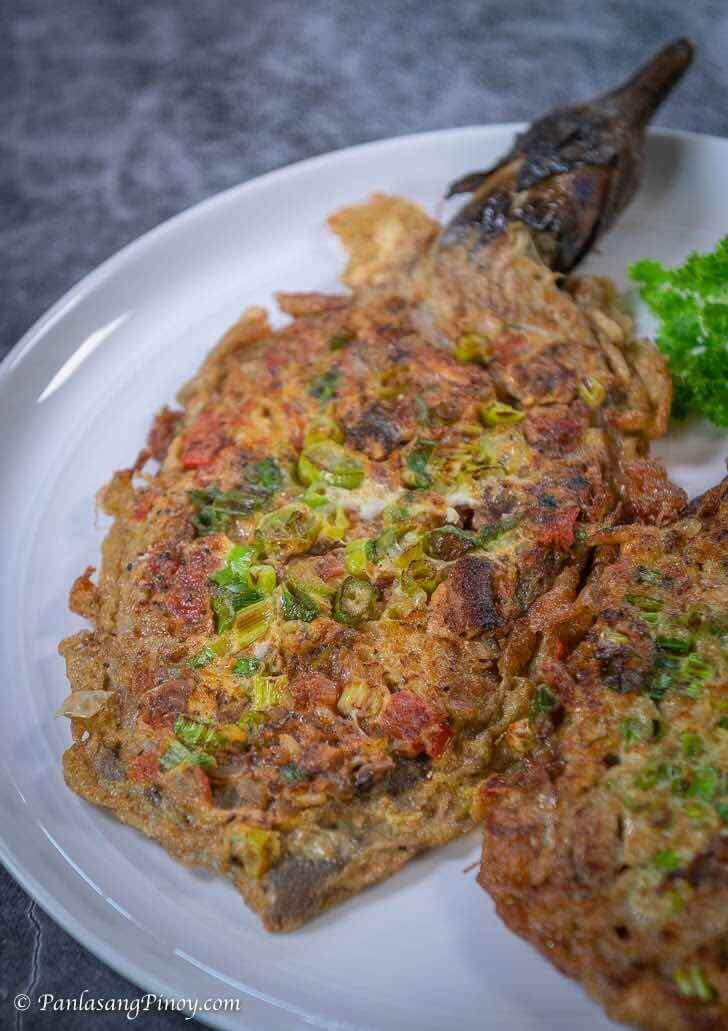 Eggplant and Sardine Omelet Recipe