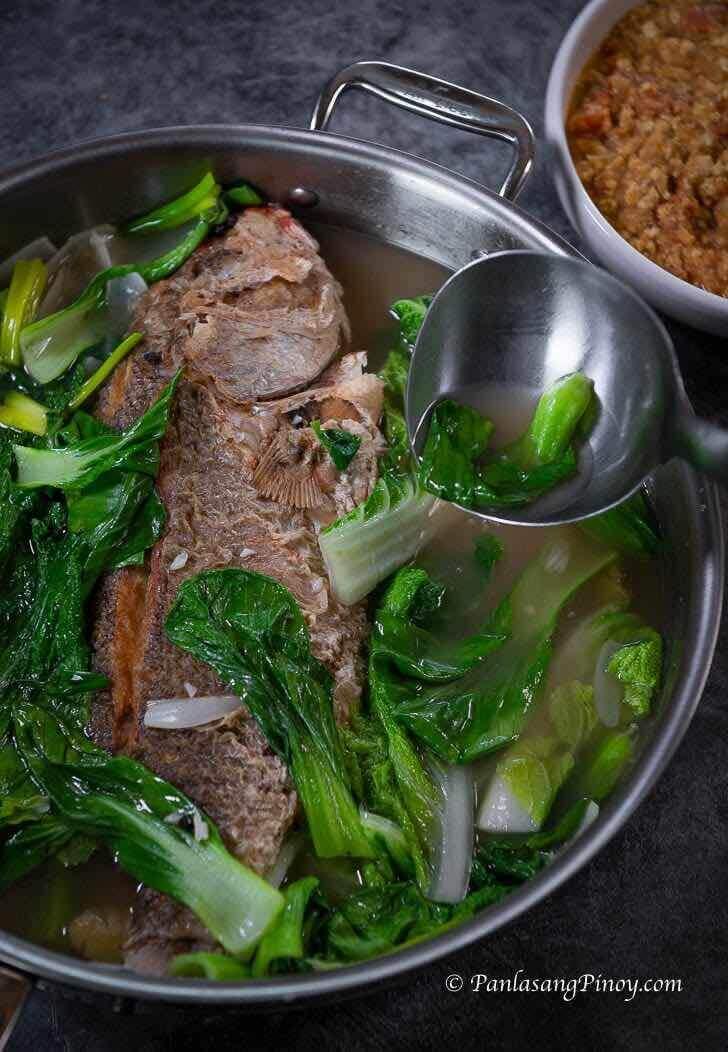 Pesang Isda with Ginisang Miso Recipe