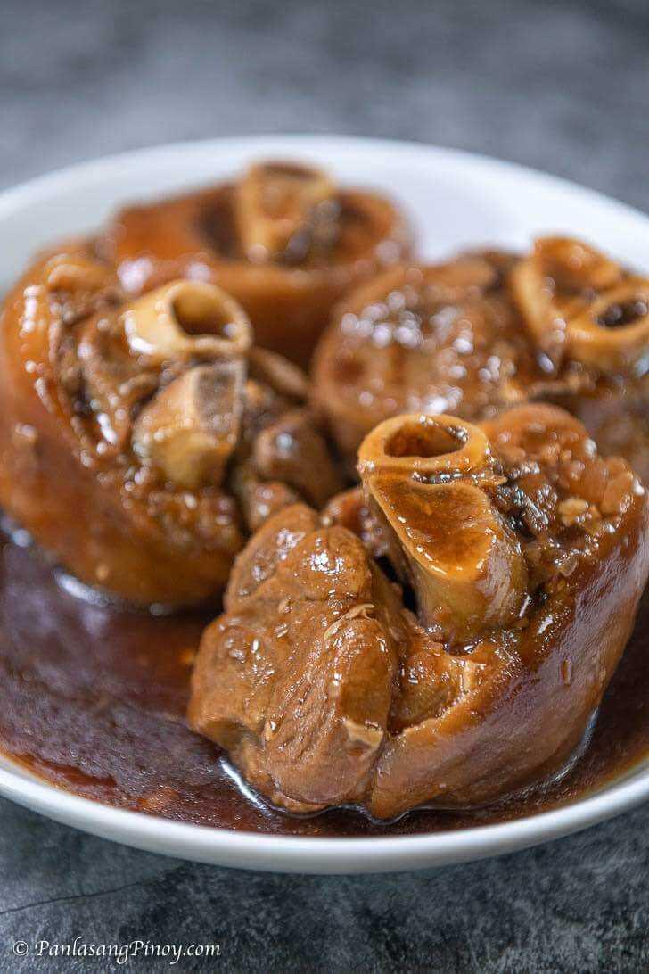 Sweet Pata Asado recipe