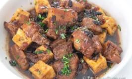 Tokwa at Baboy Humba (Pork Humba with Tofu)