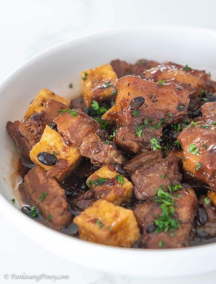 Tokwa at Baboy Humba Recipe