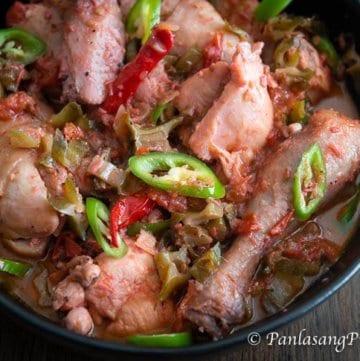Chicken Binagoongan