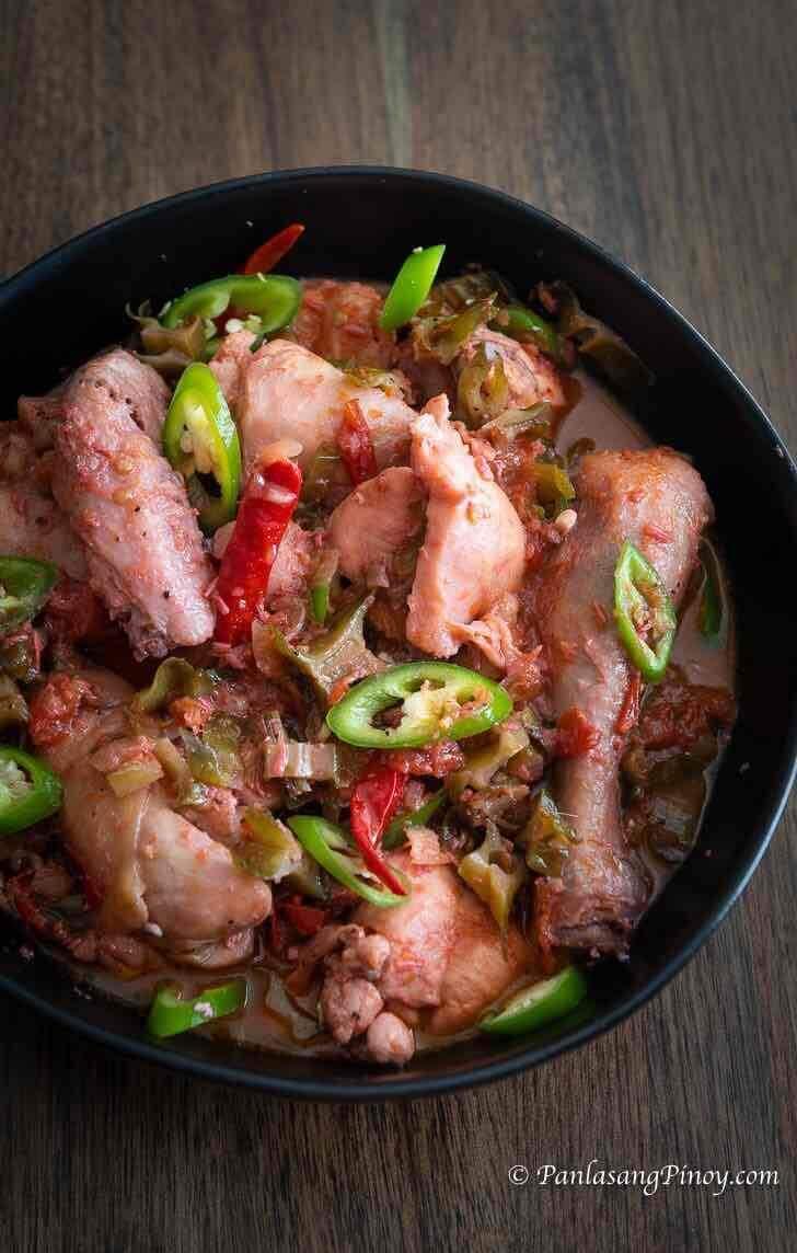 Chicken Binagoongan Recipe