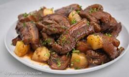 Pinatuyong Pork Hamonado Recipe