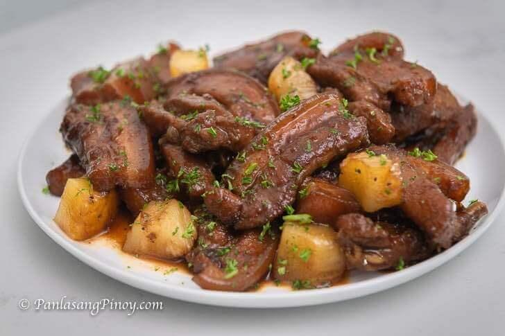 Pinatuyong Pork Hamonado