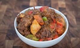 Pulutan Style Beef Caldereta