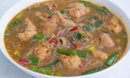 Spicy Sotanghon Chicken Soup