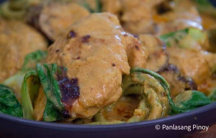 chicken kare kare sa gata recipe