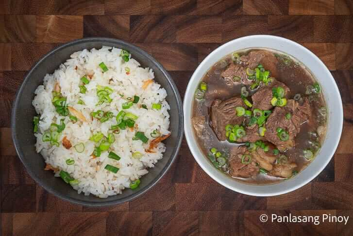 how to cook beef pares for business