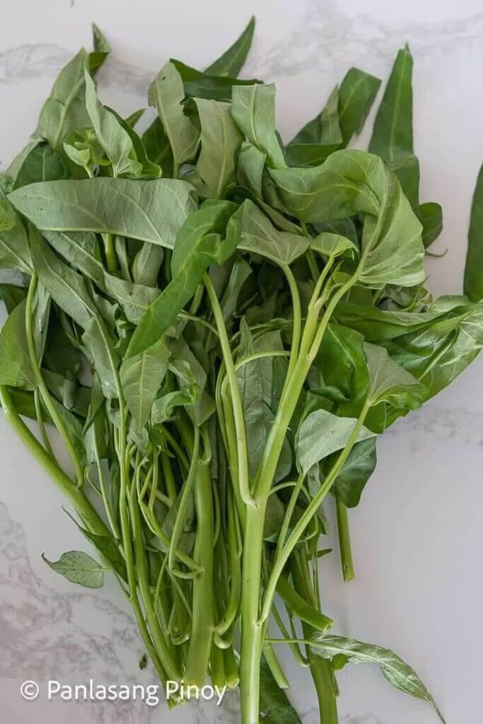 kangkong vegetable
