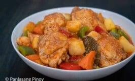 Pineapple Chicken Afritada