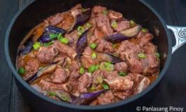 Pork Ribs Binagoongan