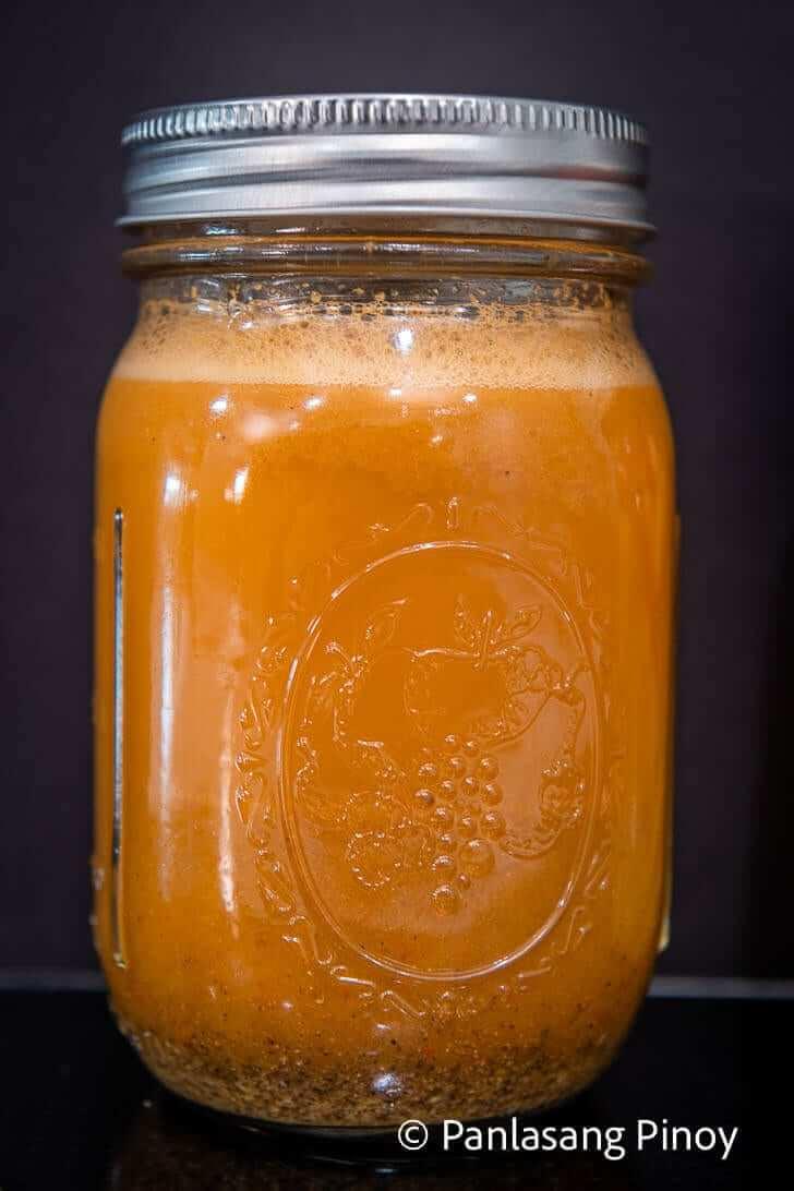 spicy vinegar dipping sauce