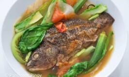 Air Fried Fish Sinigang sa Miso