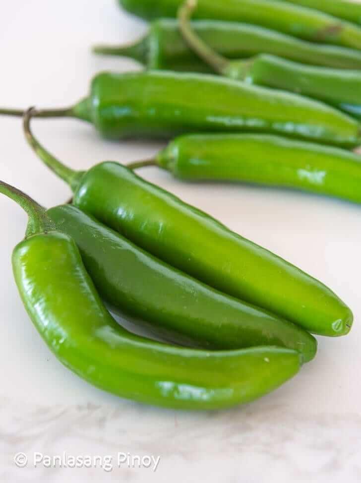 long green pepper