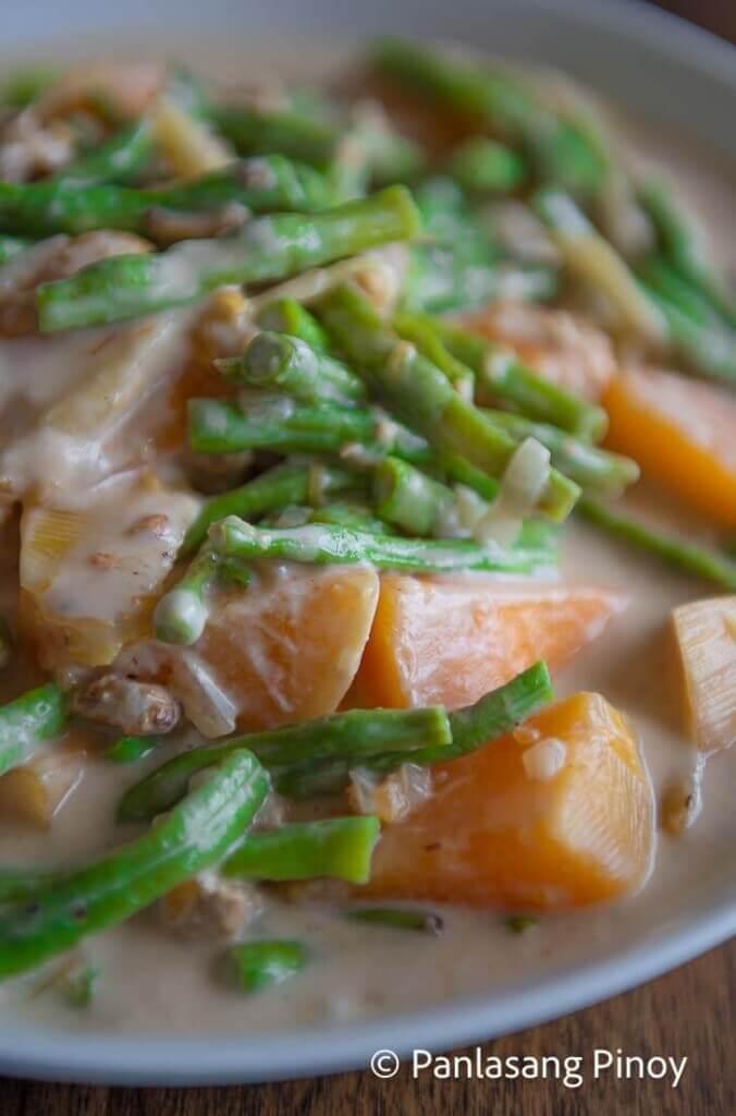 Ginataang Kalabasa Recipe
