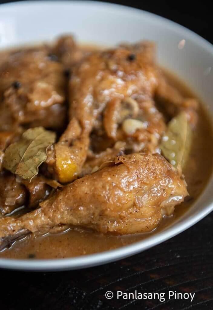 Chicken Paksiw Panlasang Pinoy