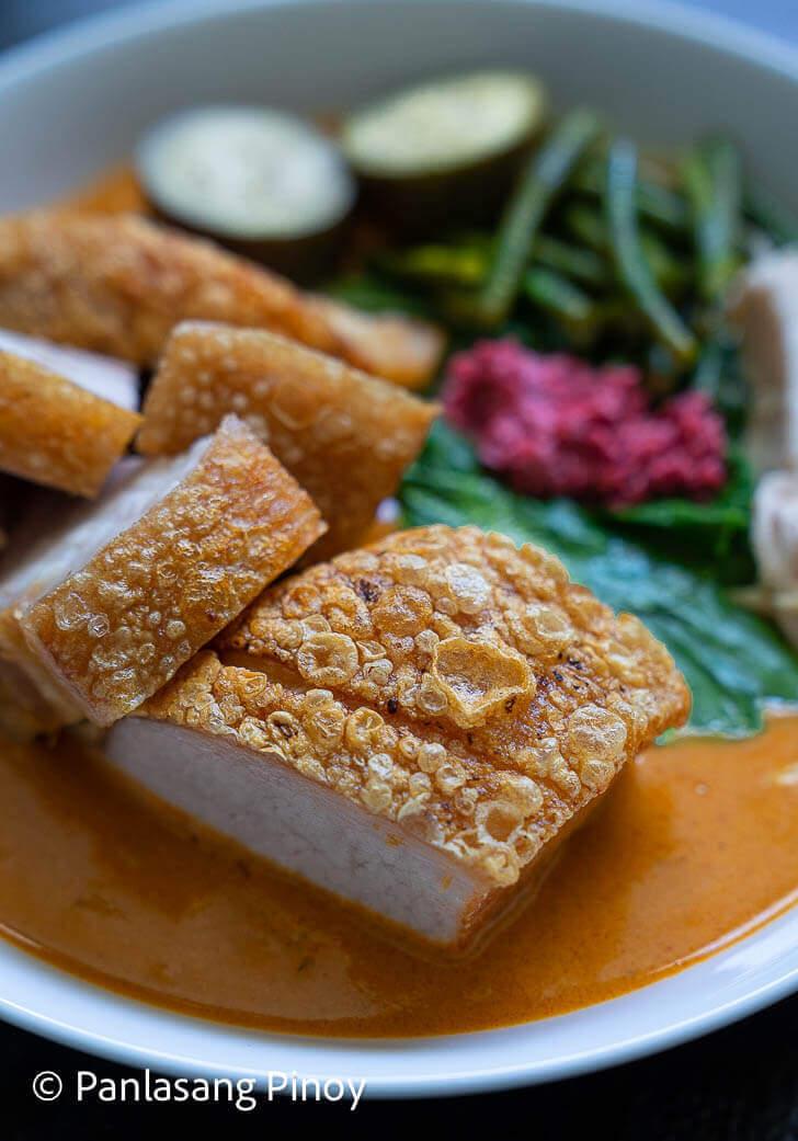 how to cook crispy kare kare