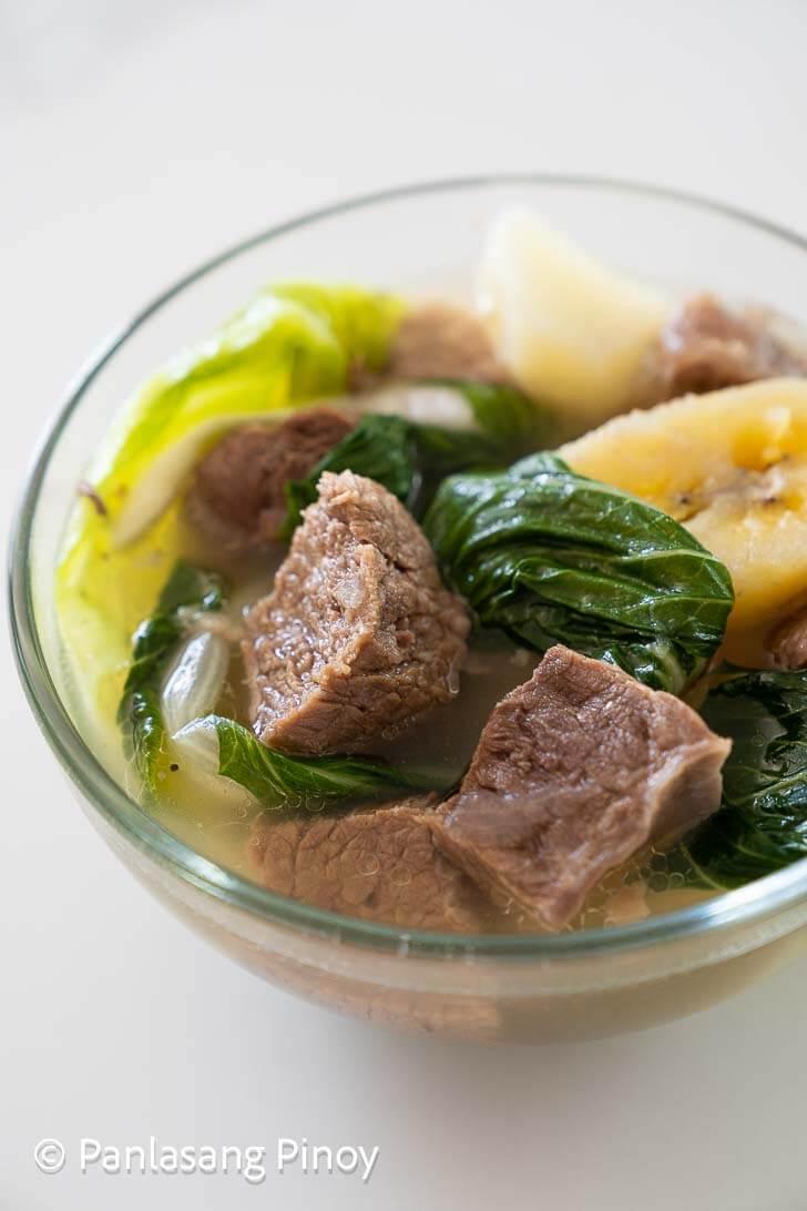 nilagang baka recipe panlasang pinoy
