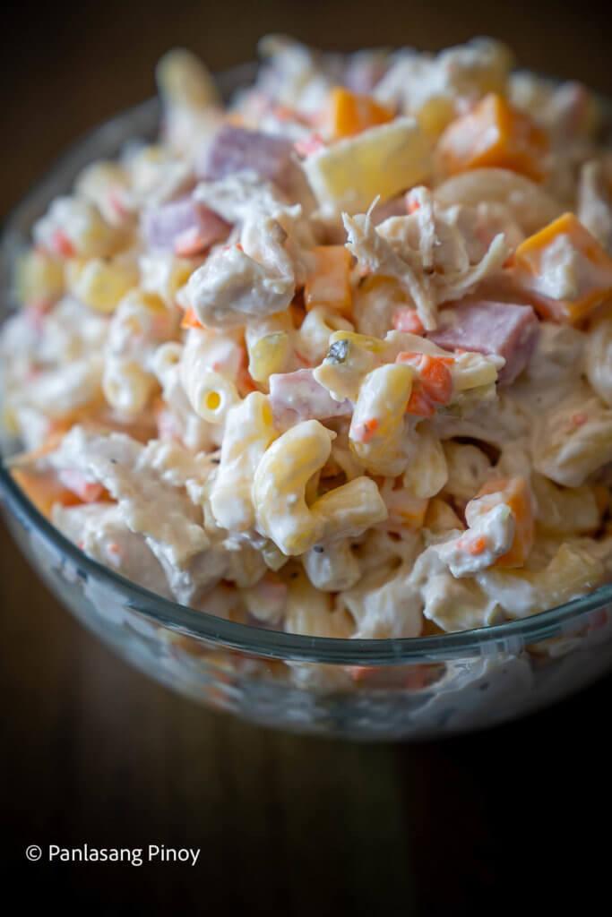 Easy Chicken Macaroni Salad