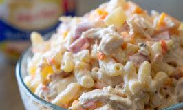 Father's Day Chicken Macaroni Salad