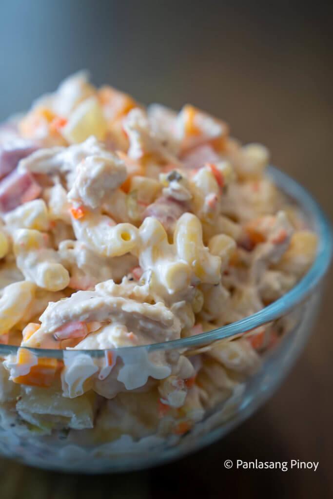 Father's Day Chicken Macaroni Salad Recipe