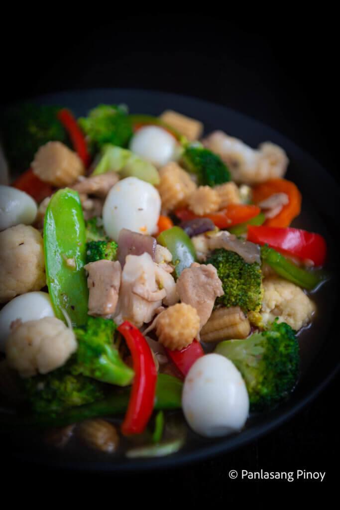 How to Cook Chopsuey Filipino