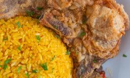 Java Rice and Pork Chop
