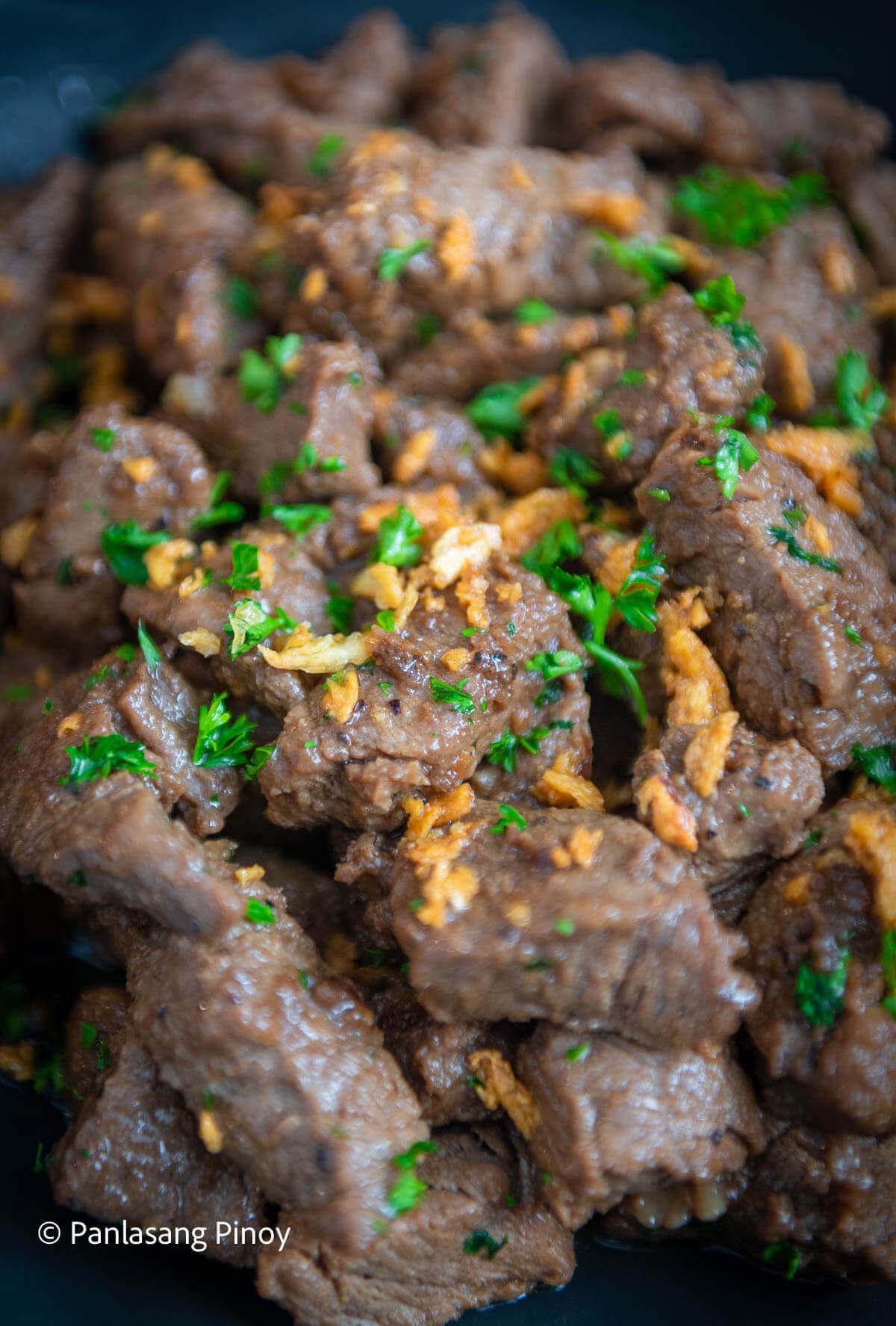 How to Cook Beef Salpicao